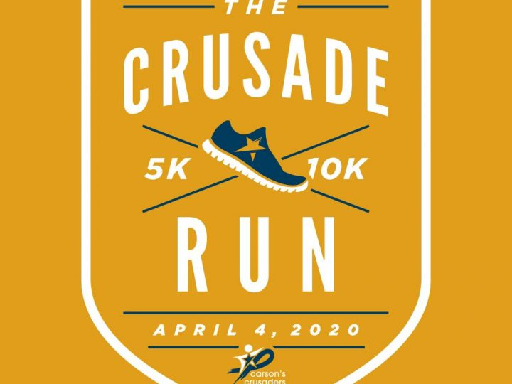 Crusade Run Sat. April 4th 2020